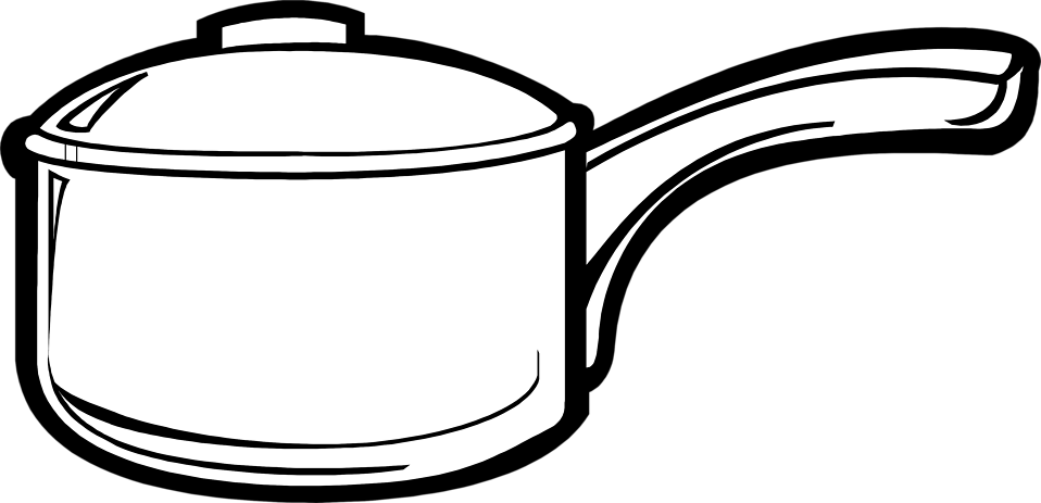 Cooking pots and pans. Free pot clipart