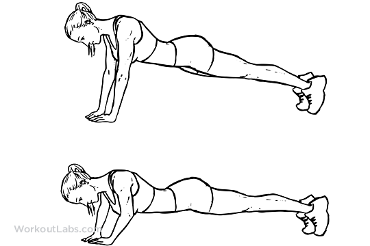Push-ups black and white clipart png free Diamond / Pyramid / Triceps Push-ups | Illustrated Exercise guide ... png free