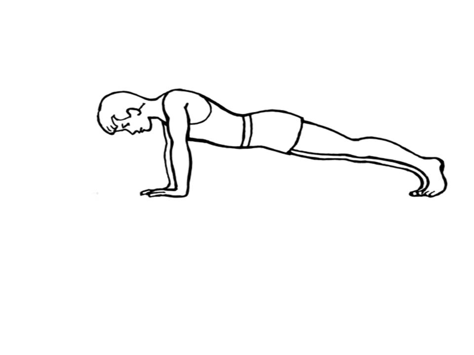Black and white clipart pushups graphic black and white Push-ups: equipment not required graphic black and white