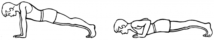 Kid push up clipart black and white vector download Become a Push-Up Pro - The Fit and Food Connection vector download