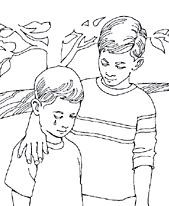 Black and white clipart respect other things jpg freeuse library Children showing respect to others clipart black and white 2 ... jpg freeuse library