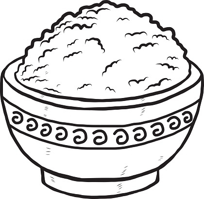 Black and white clipart rice clipart library Rice Clipart Black And White Clip Art Library Within – Barkandcall ... clipart library