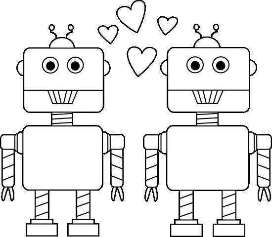 Black robot clipart clip transparent library robot clipart black and white - Google keresés | Iskola | Iskola clip transparent library
