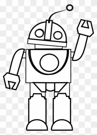 Black robot clipart vector download Free PNG Robot Black And White Clip Art Download - PinClipart vector download