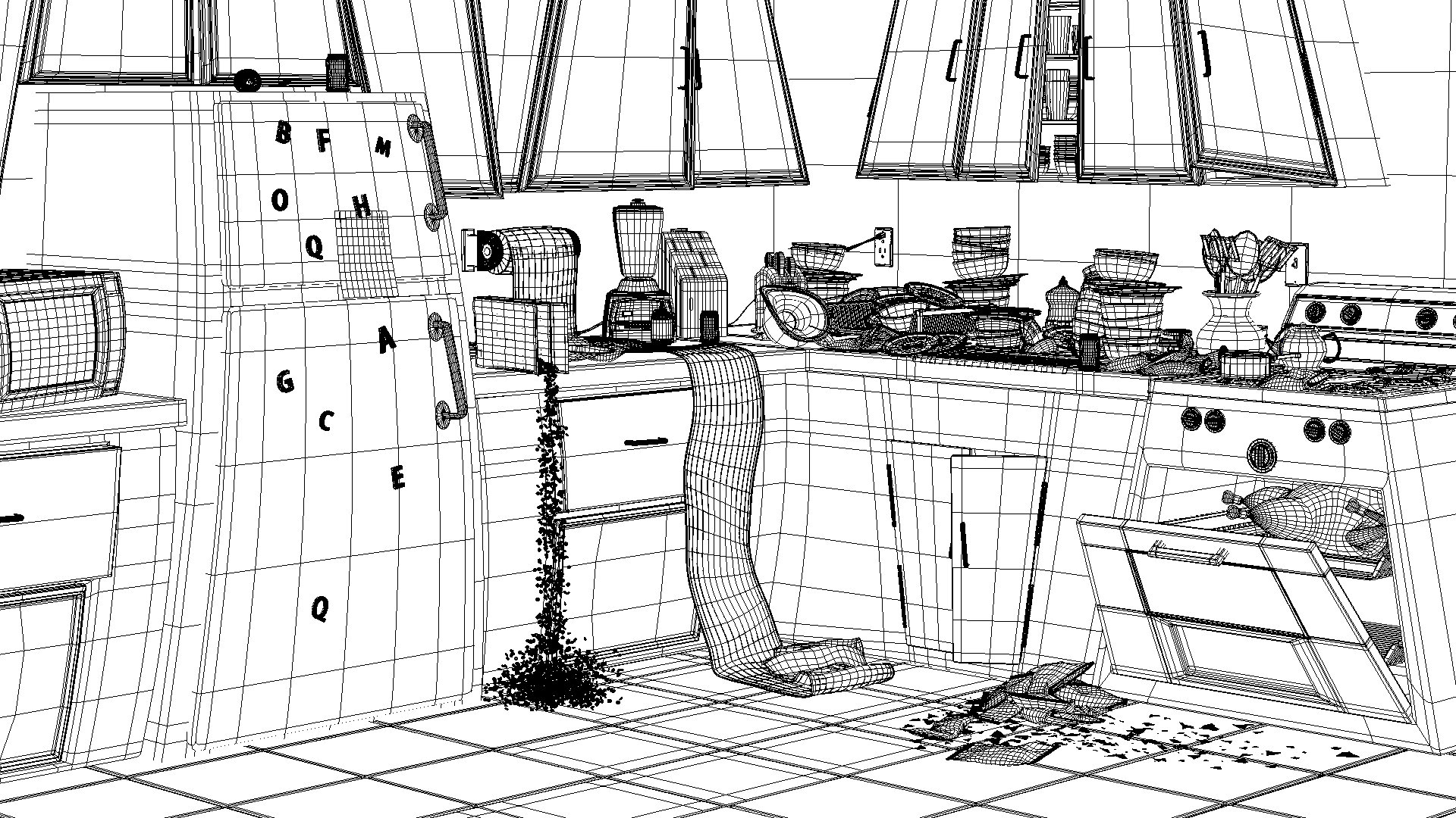 Black and white clipart room is a disaster clip transparent download Free Kitchen Mess Cliparts, Download Free Clip Art, Free Clip Art on ... clip transparent download