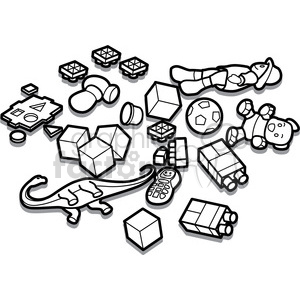 Toy black and white clipart vector royalty free dirty clipart - Royalty-Free Images | Graphics Factory vector royalty free