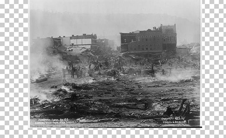 Black and white clipart room is a disaster clip download The Johnstown Flood South Fork Dam Johnstown Inclined Plane PNG ... clip download