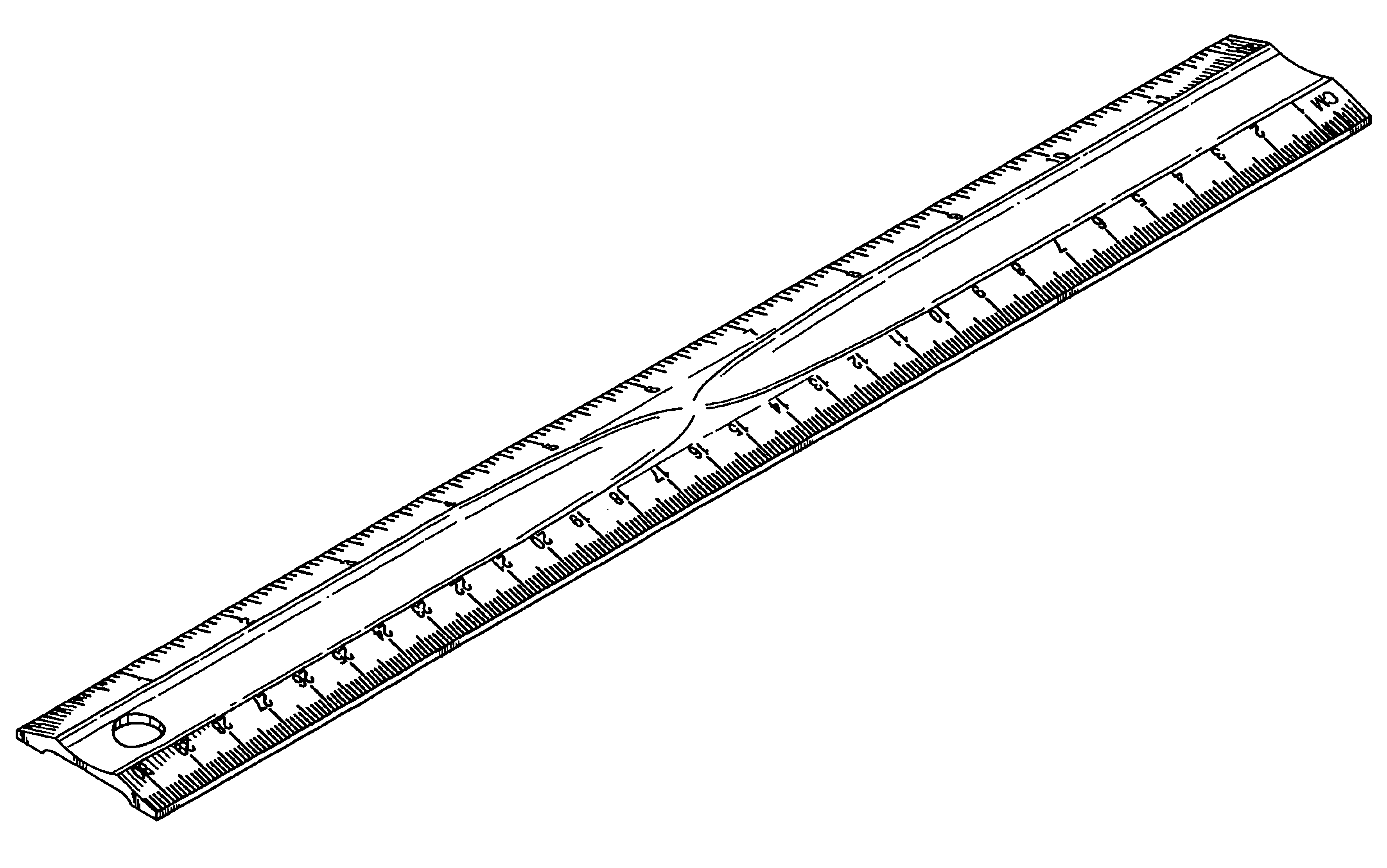 Black and white clipart ruler image black and white library Free Ruler Cliparts, Download Free Clip Art, Free Clip Art on ... image black and white library