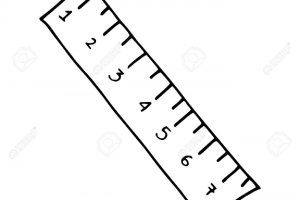 Black and white clipart ruler black and white Ruler black and white clipart 5 » Clipart Portal black and white