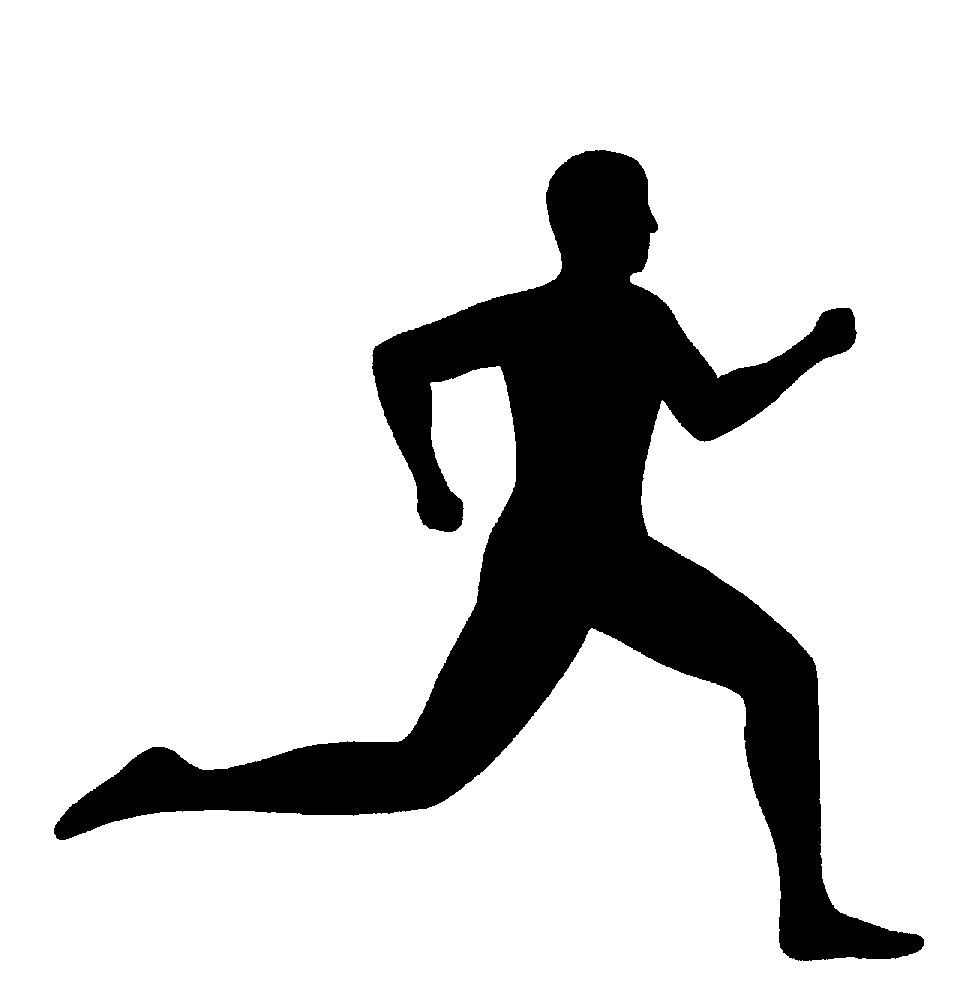Girl running track clipart banner royalty free Running clip art black white runner clipart clipart kid - Cliparting.com banner royalty free