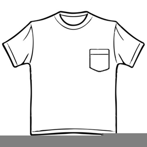T clipart black and white svg Clipart T Shirt Black White | Free Images at Clker.com - vector clip ... svg