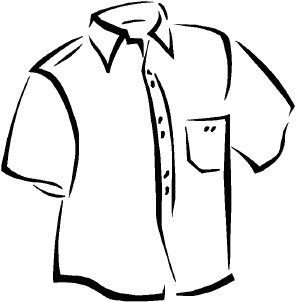Black and white clipart shirt graphic black and white Shirt Clipart Black And White | Clipart Panda - Free Clipart Images graphic black and white
