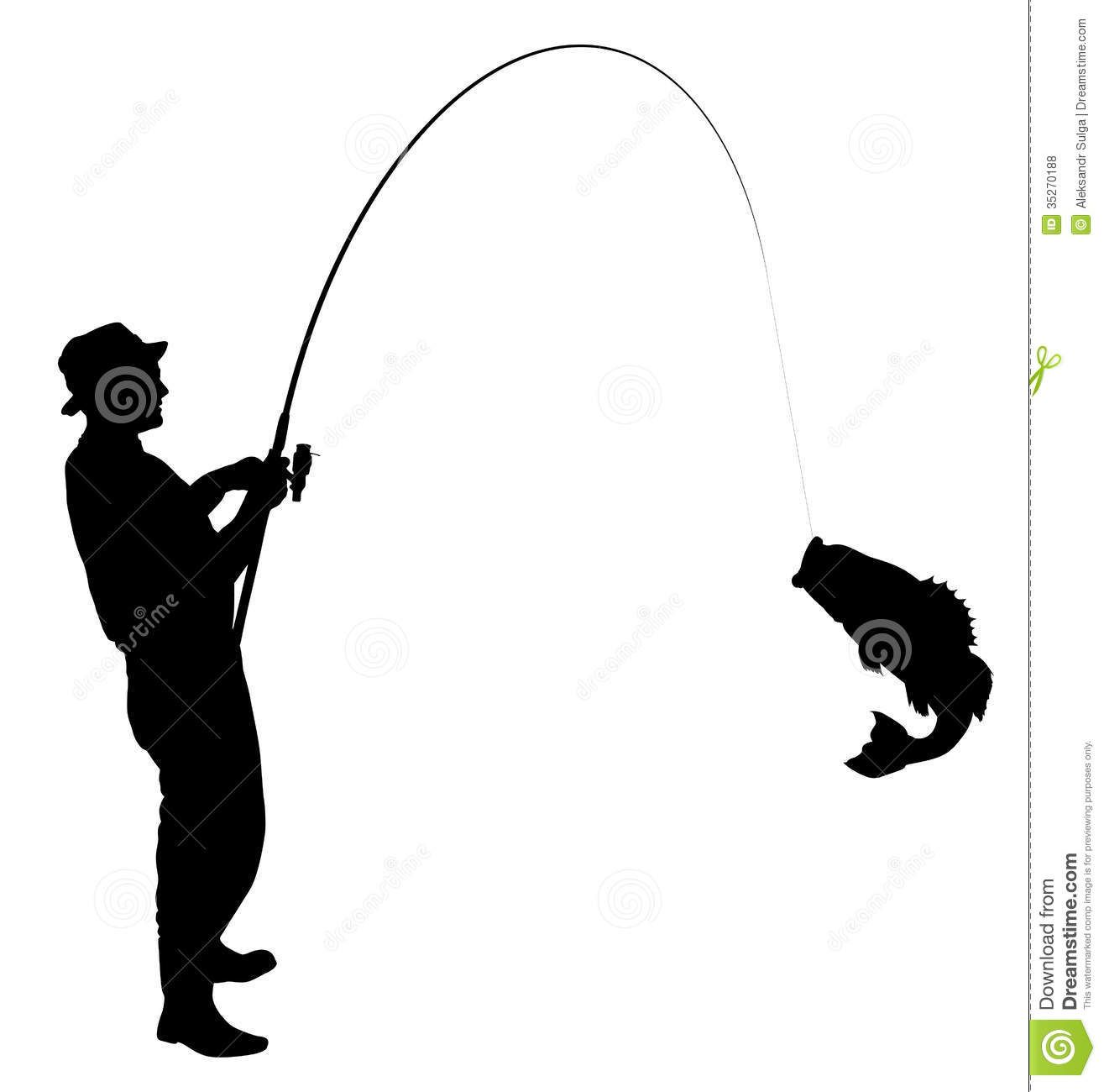 Man with fish black and white clipart graphic transparent library Man Fishing Silhouette Clipart Panda Free Clipart Images | Cakes ... graphic transparent library