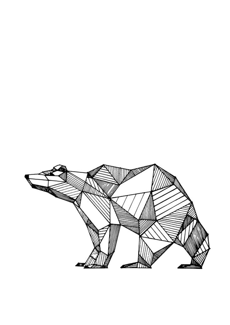 Black and white clipart sketch of learning graphic freeuse library geometric drawings animals black and white - Penelusuran Google ... graphic freeuse library