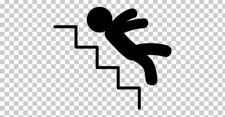 Black and white clipart someone falling down clipart download Malman Law Slip And Fall Finger Computer Icons PNG, Clipart, Area ... clipart download