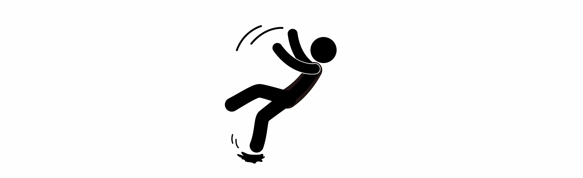 Black and white clipart someone falling down banner transparent Falling Person Clipart | Free download best Falling Person Clipart ... banner transparent
