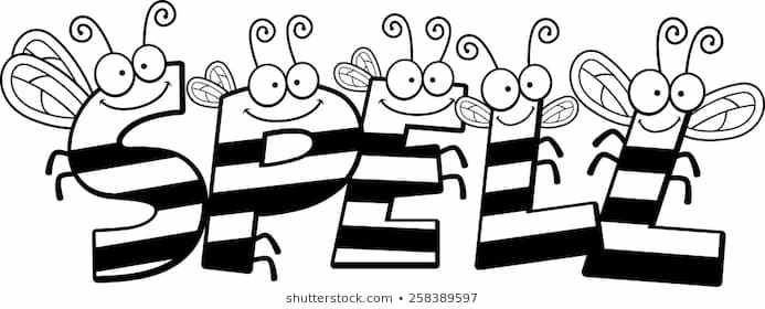 Black and white clipart spell vector download Spelling bee clipart black and white 3 » Clipart Portal vector download
