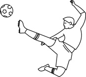 Sports black and white clipart clip download Sports Clipart - Free Black and White to Download clip download