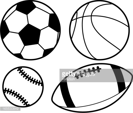 Sports black and white clipart graphic black and white download Free Black Sports Cliparts, Download Free Clip Art, Free Clip Art on ... graphic black and white download