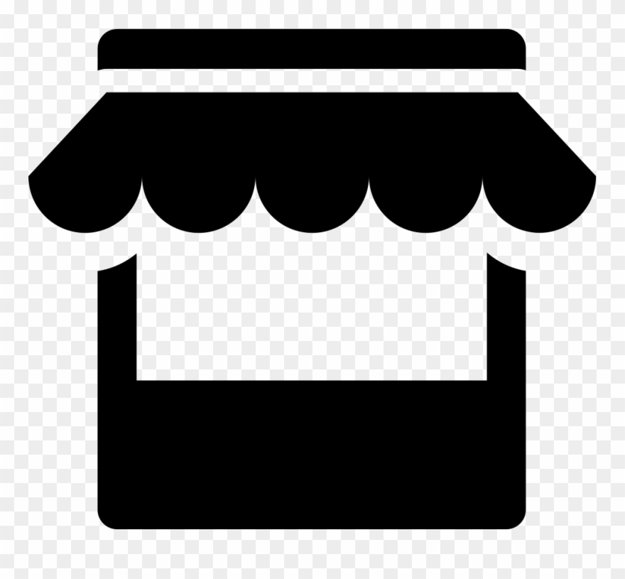 Black and white clipart store png download Clipart Black And White Stock Store Svg Png Icon Free - Transparent ... png download