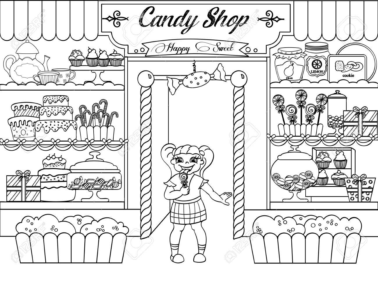 Black and white clipart store banner Store Clipart Black And White (83+ images in Collection) Page 2 banner