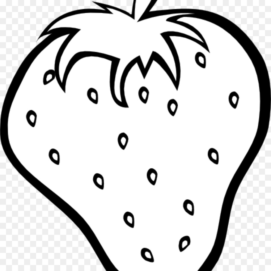 Black and white clipart strawberry png free stock Clip Art Strawberry Image Fruit Black An #138509 - PNG Images - PNGio png free stock