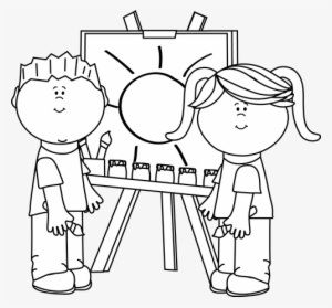 Black and white clipart students vector transparent Kids Clipart PNG Images | PNG Cliparts Free Download on SeekPNG vector transparent