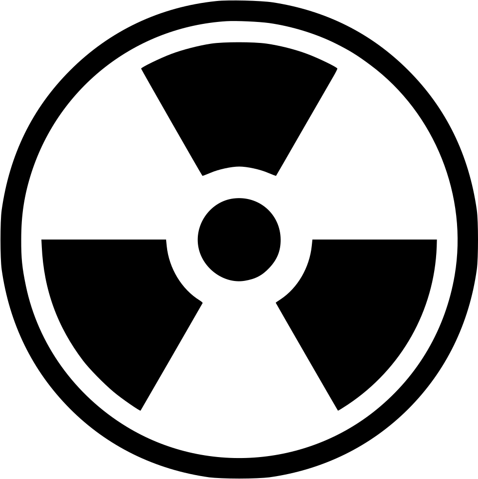 Black and white clipart sun radiation clip art royalty free stock Radiation Nuclear Worker Radioactive Svg Png Icon Free Download ... clip art royalty free stock