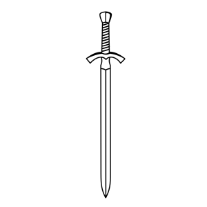 Sword free clipart jpg transparent stock Sword black and white clipart 2 – Gclipart.com jpg transparent stock