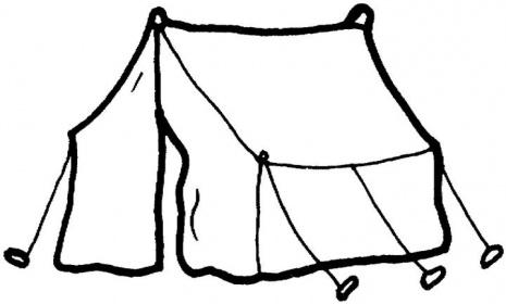 White clipart tent clip art transparent stock Camping Tent Black And White Clipart Clipart Suggest - Free Clipart clip art transparent stock