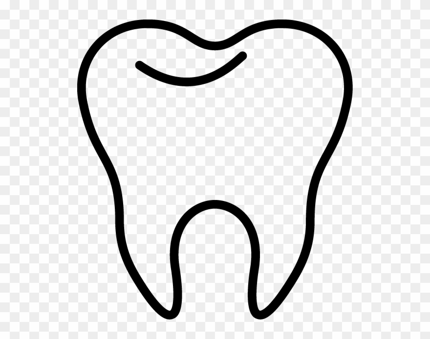 Tooth clipart outline free stock Clipart, Tooth Clipart 28 Collection Of Tooth Clipart - Tooth Black ... free stock