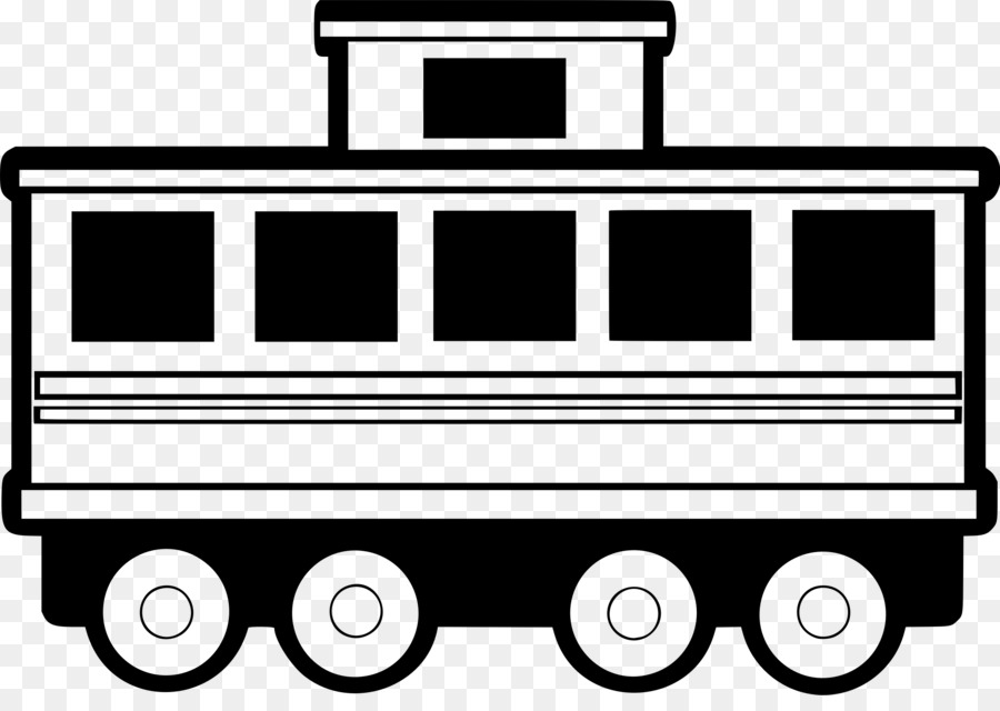 Train with many carts clipart jpg royalty free library Car Cartoon png download - 2400*1669 - Free Transparent Passenger ... jpg royalty free library
