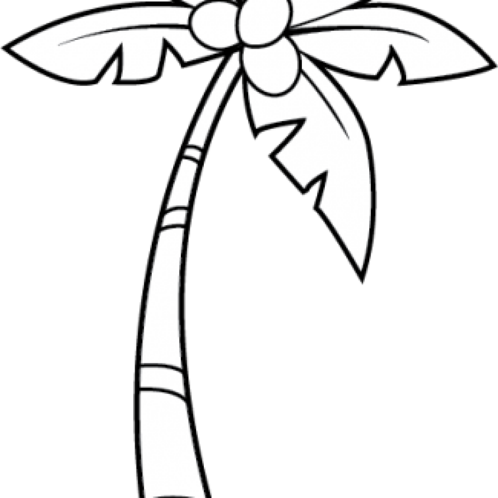 Free clipart palm tree jpg black and white library Palm Tree Clipart Black And White tree clipart hatenylo.com jpg black and white library
