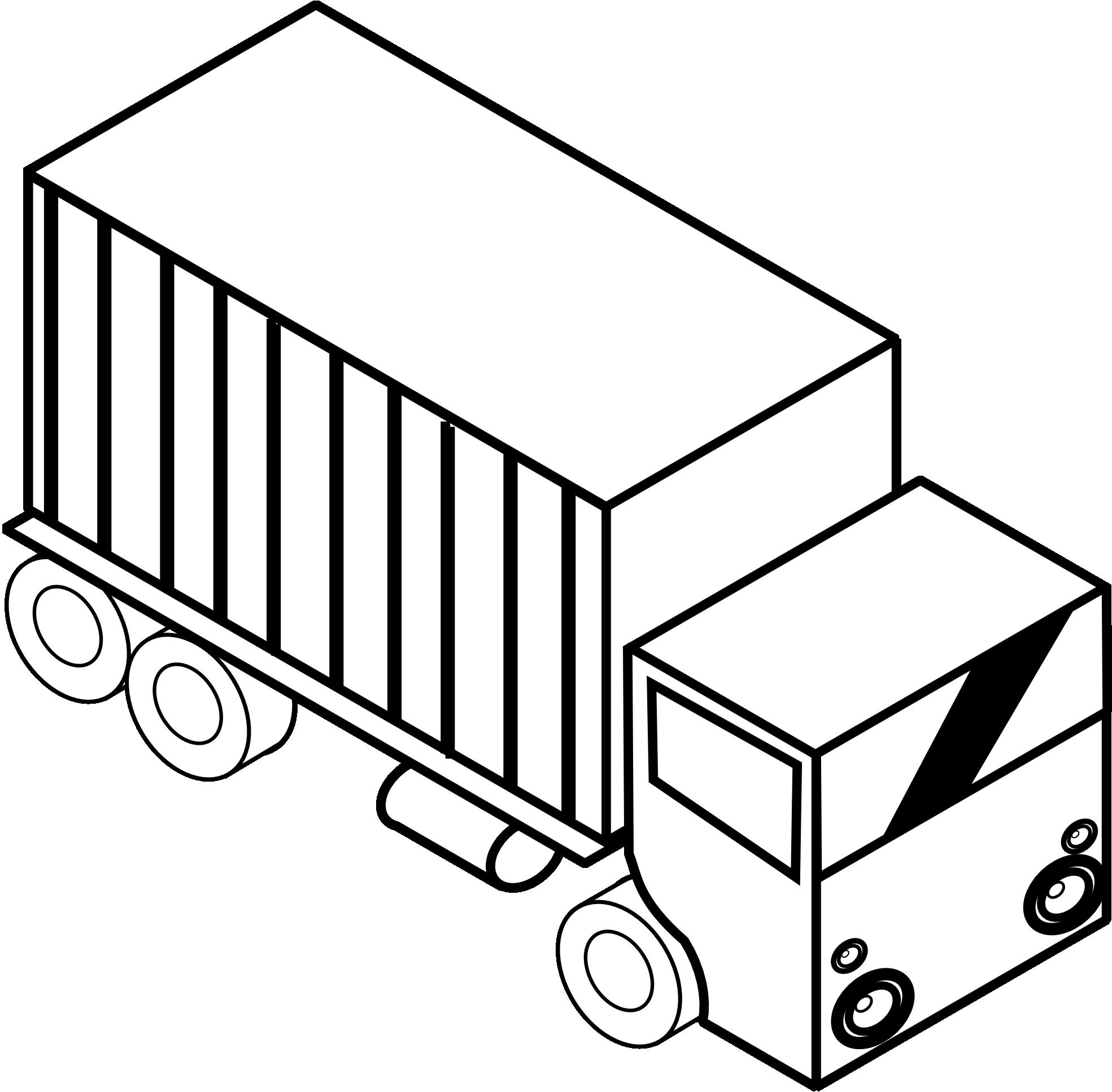 Black and white clipart trucks jpg royalty free download Truck Clipart Black And White   Clipart Panda - Free Clipart Images jpg royalty free download