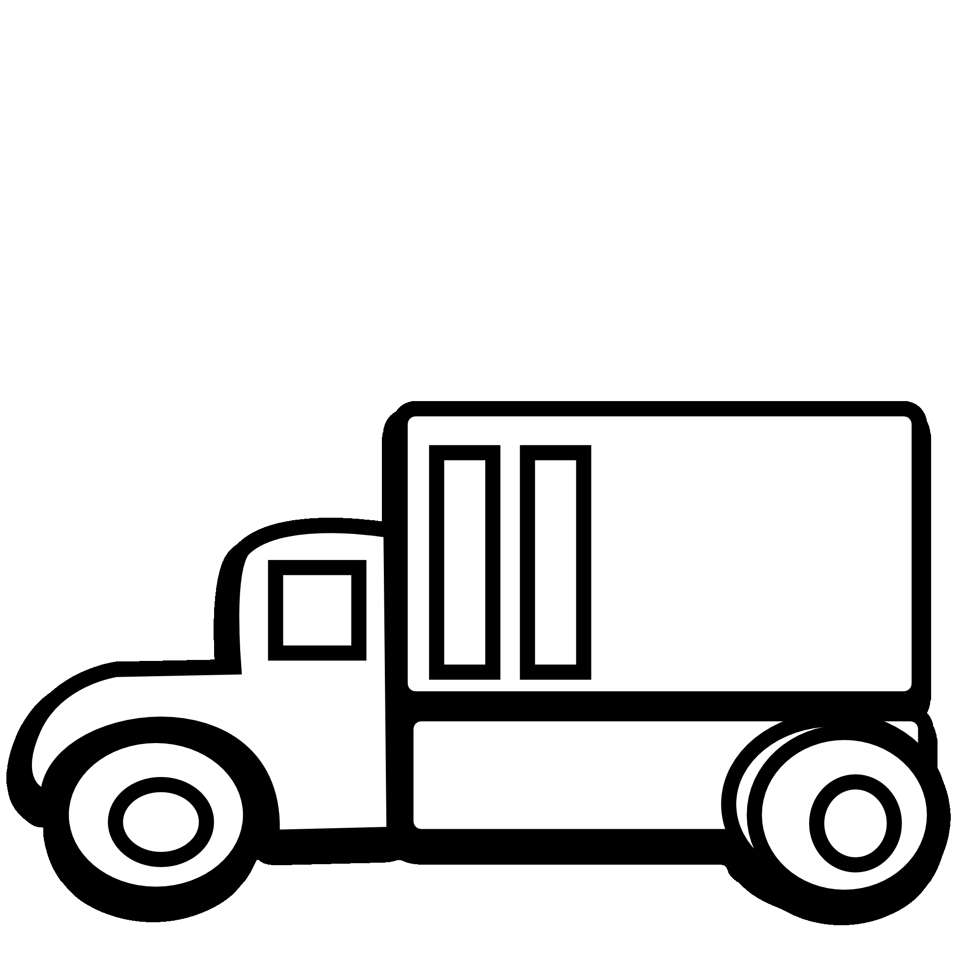 Black and white clipart trucks png freeuse library Free Black Truck Cliparts, Download Free Clip Art, Free Clip Art on ... png freeuse library