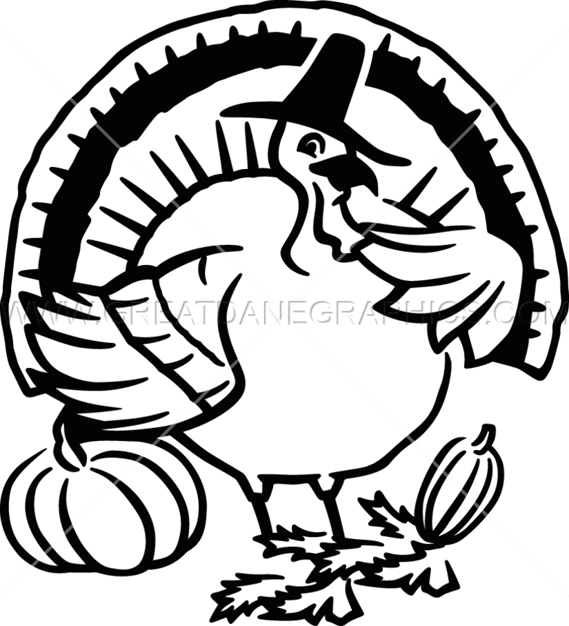 Fat Turkey | Production Ready Artwork for T-Shirt Printing banner download