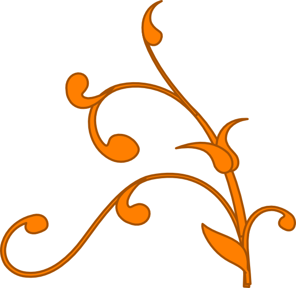 Free gold pumpkin clipart banner royalty free library Gold Vine Clip Art at Clker.com - vector clip art online, royalty ... banner royalty free library