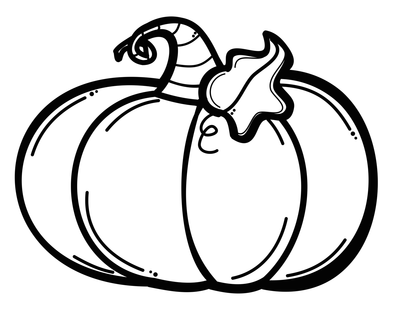 Pumpkin clipart black and white outline picture freeuse library 28+ Collection of Pumpkin Clipart Black And White Png | High quality ... picture freeuse library