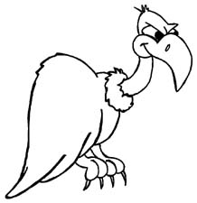 Black and white clipart vulcher jpg black and white download Free Vulture Cliparts, Download Free Clip Art, Free Clip Art on ... jpg black and white download