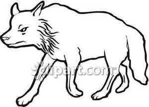 Wolf clipart black and white clip art transparent library Wolf Clipart Black And White | Clipart Panda - Free Clipart Images clip art transparent library