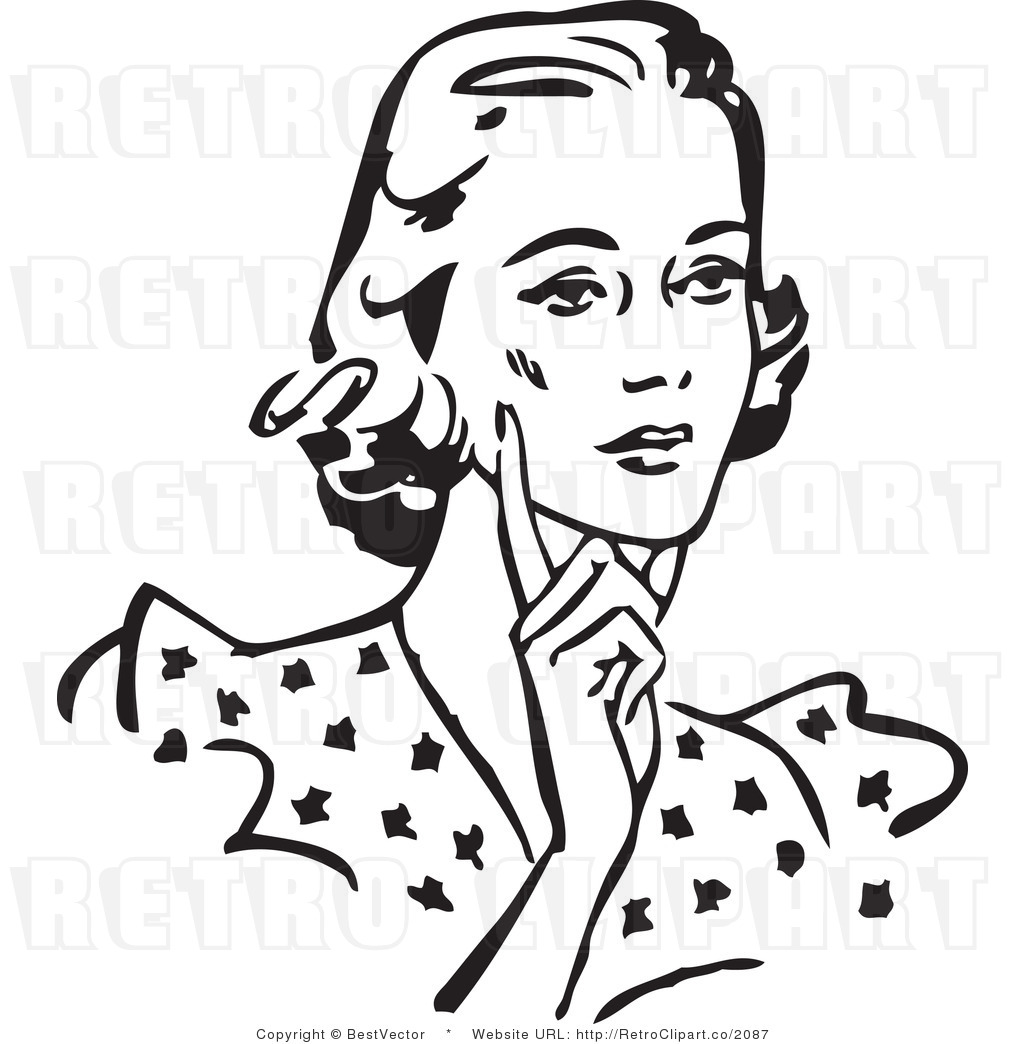 Confused old woman black and white clipart stock 21+ Woman Clipart Black And White | ClipartLook stock
