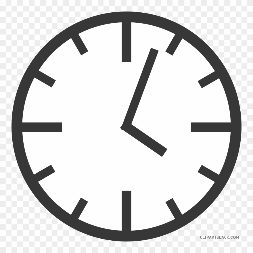 Clock black and white clipart clipart transparent download Graphic Library Black And White Clipart Clock - Would Win Meme ... clipart transparent download