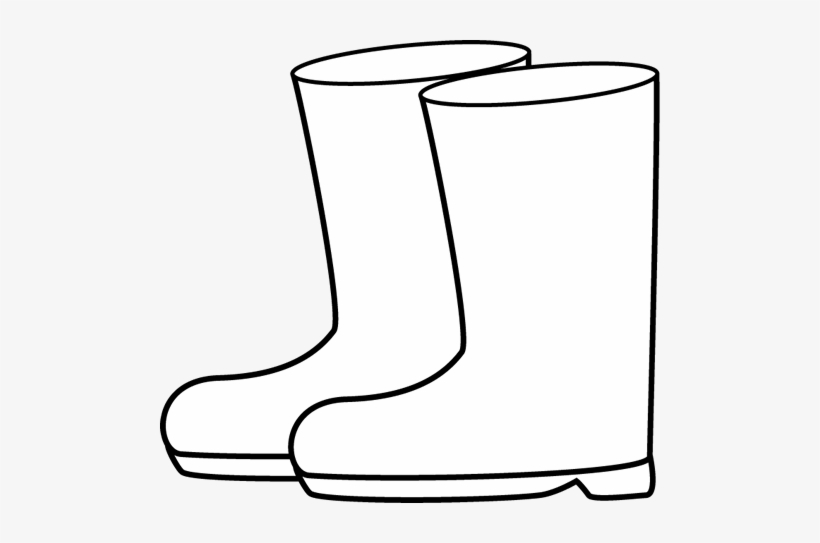 Black and white clipart won png freeuse download Rain - Gumboot Clipart Black And White PNG Image   Transparent PNG ... png freeuse download