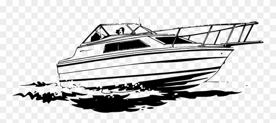 Black and white clipart yacht png free download Yacht Black And White Clipart (#1246558) - PinClipart png free download