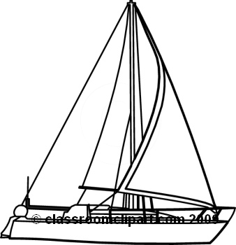 Black and white clipart yacht clipart free Sailboat Clipart Black And White   Free download best Sailboat ... clipart free