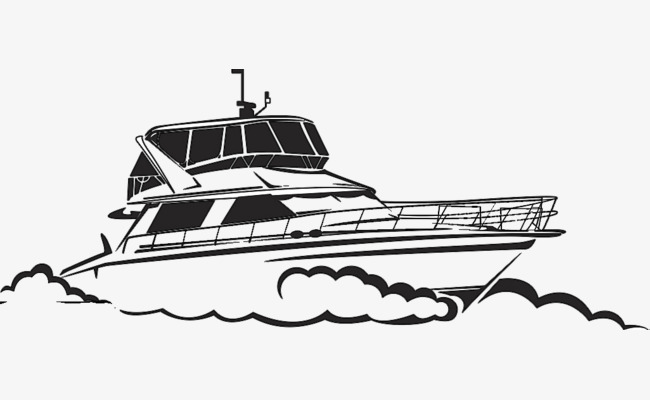 Black and white clipart yacht svg library download Yacht clipart black and white 6 » Clipart Station svg library download