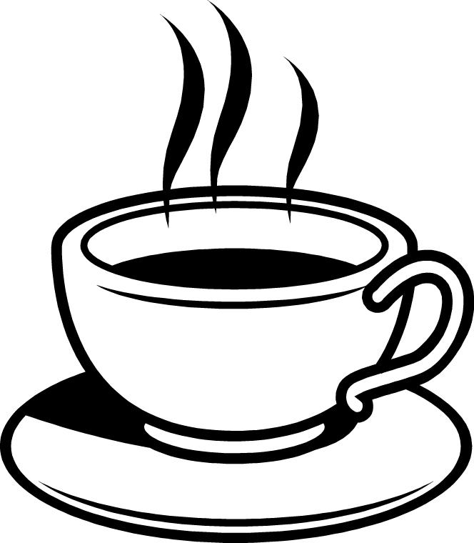 Black and white coffee mug clipart banner free library Mug Clipart Black And White | Free download best Mug Clipart Black ... banner free library