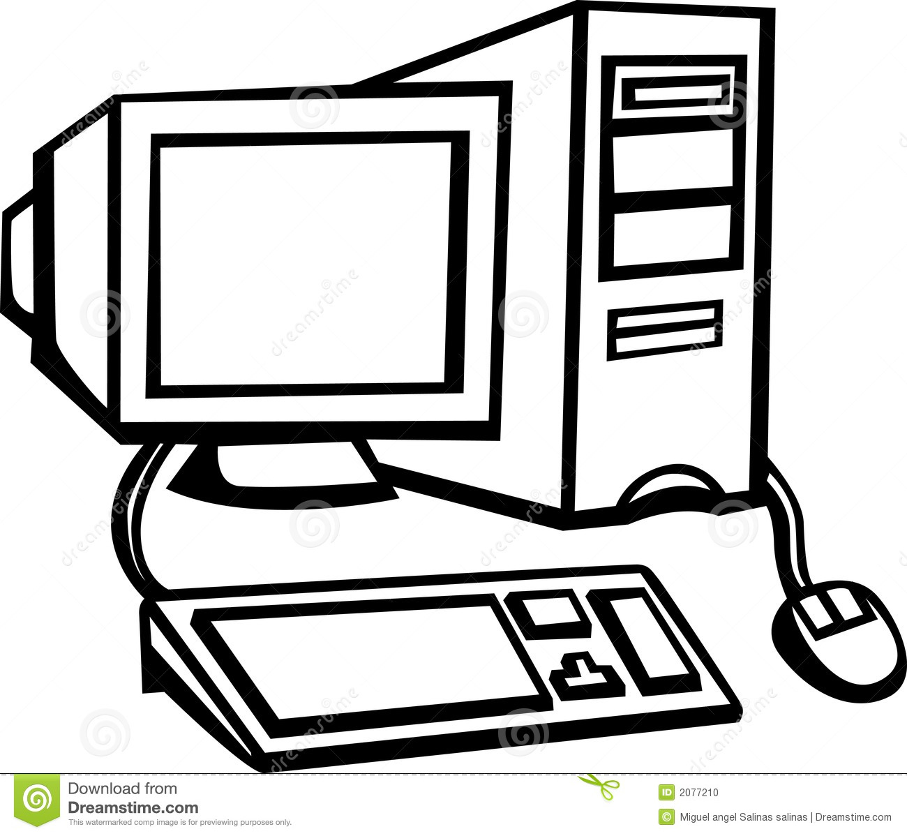 Black kid on computer clipart png royalty free stock 78+ Computer Clipart Black And White | ClipartLook png royalty free stock