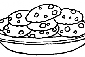 Black and white cookies clipart clipart black and white stock Clipart black and white cookies » Clipart Portal clipart black and white stock