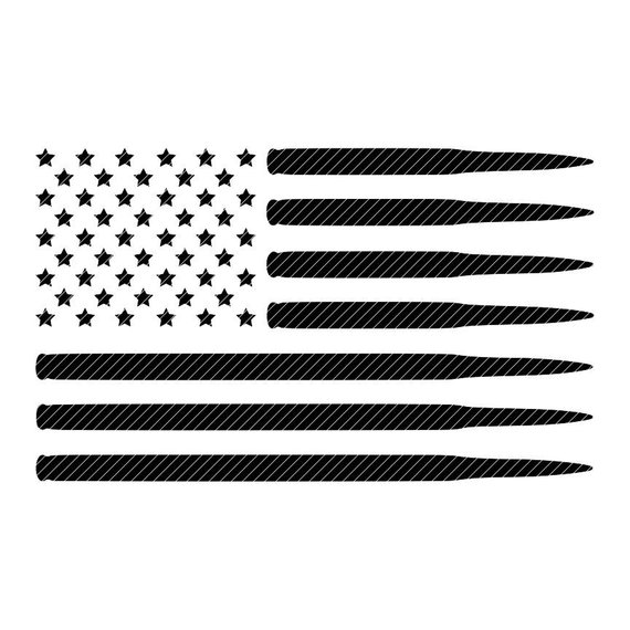 Black and white cool flag made of bullets clipart png free stock Bullet flag, U.S.A. America svg jpg png clipart design vector vinyl ... png free stock